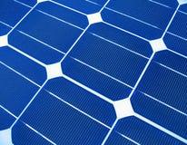 makroen panels sol- Royaltyfri Bild