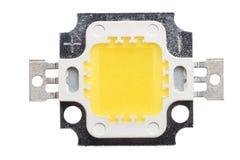 Makrofoto des PFEILERS Chip On Board LED Stockbild