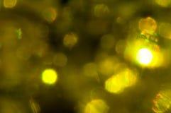 Makrofotografinärbilden stelnar bollar i en genomskinlig packe Ye Arkivbilder