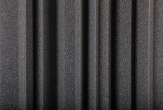 Makrohintergrund der Wand des akustischen Schaums Lizenzfreie Stockfotografie