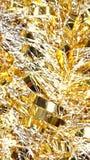 Makrojulglitter Royaltyfria Bilder