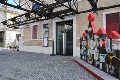 MAKROmuseum av samtida konst i Rome royaltyfria bilder