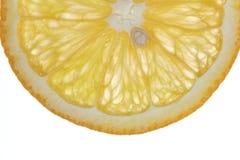 Makronahrungsmittelansammlung - orange Scheibe Lizenzfreies Stockbild