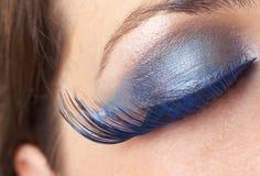Makroschuß der schönen Augen Lizenzfreies Stockbild