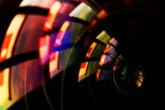 Makroschuß des vorderen Elements eines Kameraobjektivs Lizenzfreie Stockfotografie