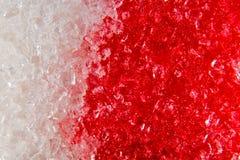 Makrosocker i blodet, begrepp av sockersjuka och skada av sötsaken Arkivbilder