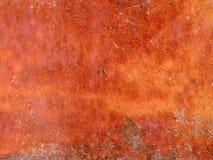 Makrotextur - metall - rostig skalningsmålarfärg fotografering för bildbyråer