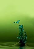 Makrowasserspritzen Stockbilder