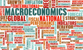 Makrowirtschaft Lizenzfreie Stockfotos