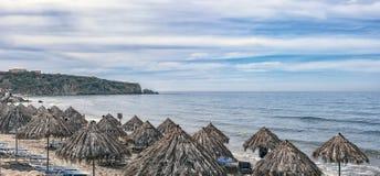 Makrygialos Beach Sunspot Royalty Free Stock Image