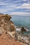 Makrygialos Cove Royalty Free Stock Image