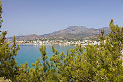 Makrygialos Crete Royalty Free Stock Photo