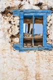 Makrygialos House Ruin Stock Photography