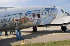 MAKS国际航空航天沙龙 免版税库存照片