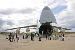 MAKS 2009. Avião An-124 Ruslan Fotos de Stock