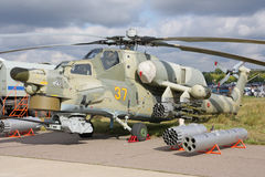 MAKS 2009. Helicopter Mi-28 Royalty Free Stock Images