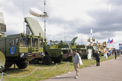 MAKS 2009. S-300 (missile) Favorit Stock Photo