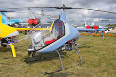 MAKS 2009. Tiny helicopter Stock Images
