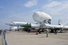 MAKS国际航空航天沙龙 免版税图库摄影