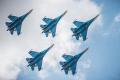 MAKS 2015 airshow Royalty Free Stock Image