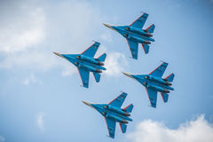 MAKS 2015 airshow Stock Photography