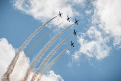MAKS 2015 airshow Royalty Free Stock Image