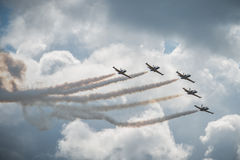 MAKS 2015 airshow Royalty Free Stock Photo