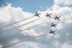 MAKS 2015 airshow Stock Photos