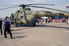 MAKS International Aerospace Salon. Helicopter Stock Image