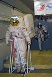 MAKS International Aerospace Salon. Spaceman costume. Stock Photography