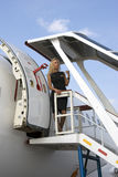 MAKS International Aerospace Salon. Sukhoi superjet 100 Stock Photos