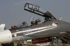 MAKS Międzynarodowy Kosmiczny salon Militarny samolot Obrazy Stock