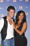 Maksim Chmerkovskiy, Mel B, Melanie Brown, Spice Girl, Mel B. Spice Girl Melanie Brown aka Mel B & Maksim Chmerkovskiy at Us Weekly Magazine's Hot Hollywood Stock Photos
