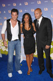 Maksim Chmerkovskiy, Mel B, Melanie Brown, Spice Girl, Stephen Belafonte, Mel B. Spice Girl Melanie Brown aka Mel B & Maksim Chmerkovskiy (left) & husband Royalty Free Stock Photo