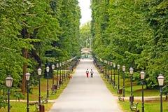 Maksimir公园,萨格勒布 库存照片
