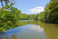 Maksimir lake Stock Photo