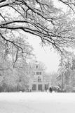 Maksimir Park in the winter. Stock Photo
