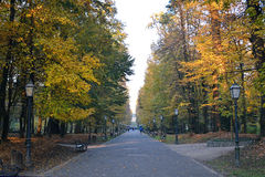Maksimir park, Zagreb, Croatia Royalty Free Stock Images