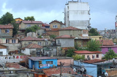 Maksuda ghetto view,Varna Bulgaria Royalty Free Stock Photos