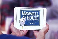 Makswella domowy kawowy logo Fotografia Royalty Free