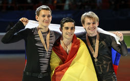Maksyma KOVTUN, FERNANDEZ, VORONOV (L) Fotografia Stock