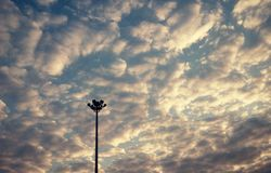 Makt av himmel Arkivbilder