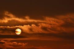 Makt av solen Royaltyfria Foton