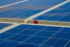 Makt för sol- cell royaltyfria foton