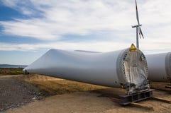 Makt för vindenergi Royaltyfri Foto