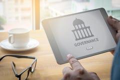 MAKT- och regeringbyggnad, myndighetsregering vektor illustrationer