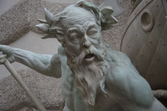 Makt på havsspringbrunnen - Rudolf Weyr, Hofburg, Wien Royaltyfria Foton