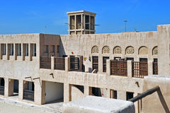 Maktoum House. Historic house of Sheikh Al Maktoum in Dubai Royalty Free Stock Image