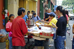 Malásia, alimento Imagens de Stock Royalty Free