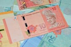 MALÁSIA - CERCA DE 2012: Tunku Abdul Rahman (1903-1990) no bankno Imagens de Stock